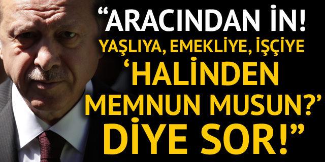 Akşener'den Erdoğan'a flaş çağrı !