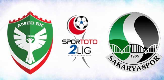 Amedspor – Sakaryaspor maçında çirkin olaylar !