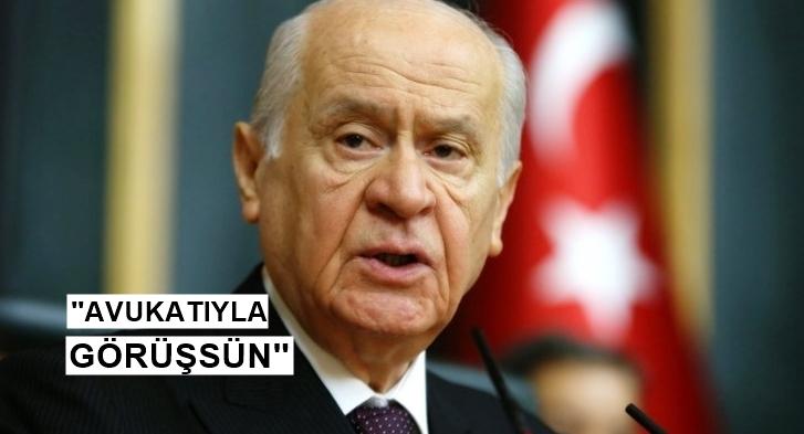 Bahçeli'den Abdullah öcalan açıklaması!