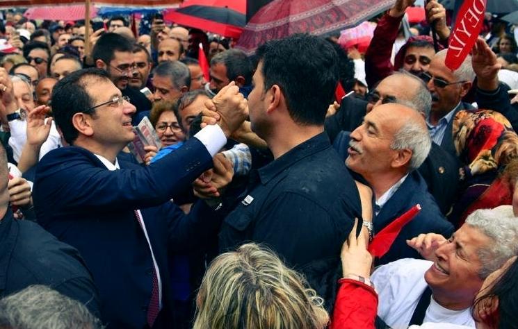 Ekrem İmamoğlu 19 Mayıs kutlamaları için Samsun'da !