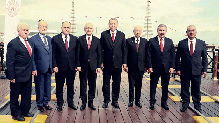 19 Mayıs'ta liderler Samsun'da !