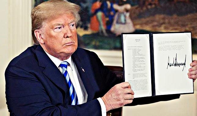 ABD Başkanı Trump'tan şok İran kararı !