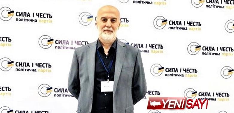 Ukrayna parlemento seçimlerinde Türk kökenli aday!