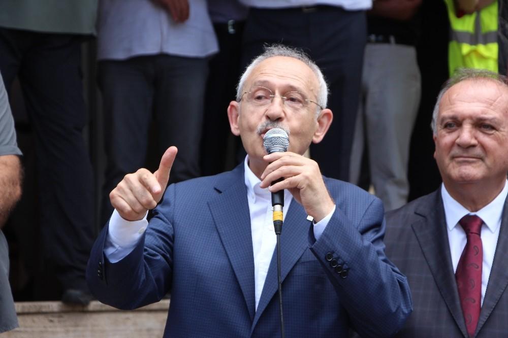 """CHP Genel Başkanı Kılıçdaroğlu: """"Yeni bir siyaset anlayışını başlatıyoruz"""""""