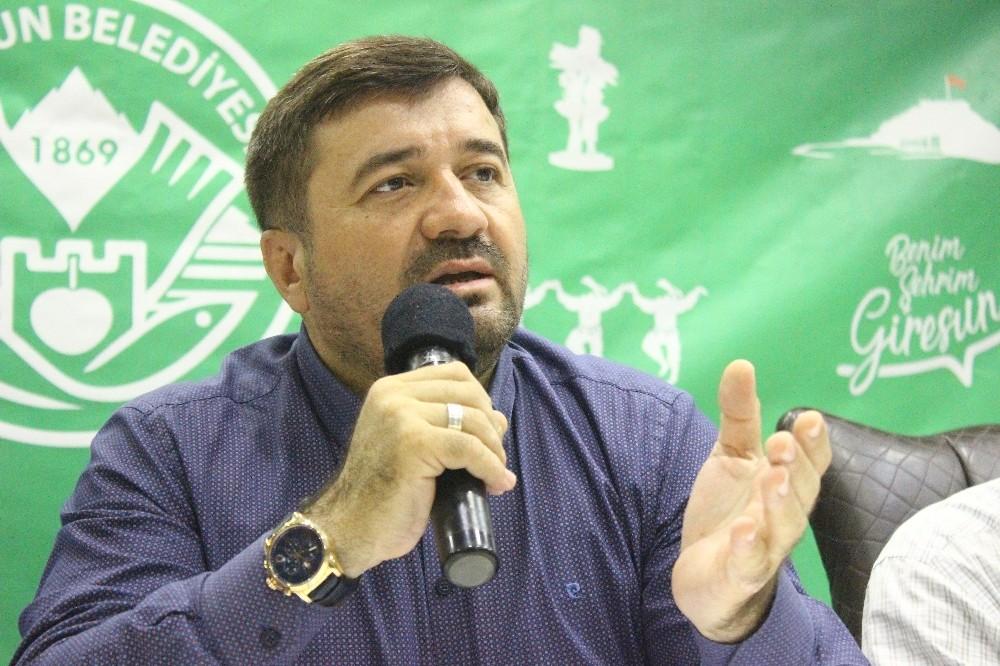 Giresun Belediye Başkanı Şenlikoğlu seçimden sonra geçen 4 aylık çalışmalarını değerlendirdi
