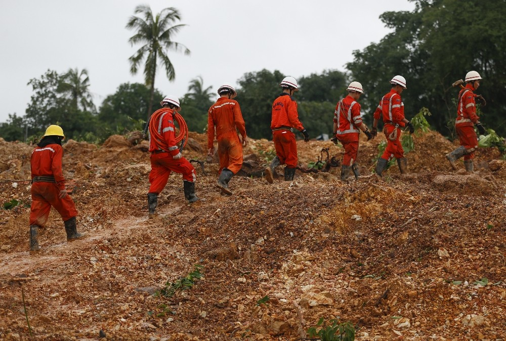 Myanmar'da ölü sayısı 41'e yükseldi