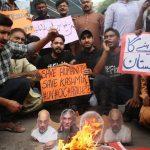 pakistanin muhafazakar partisinden hindistan karsiti protesto afeb
