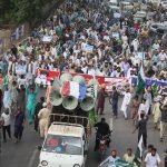 pakistanin muhafazakar partisinden hindistan karsiti protesto cc