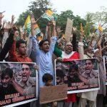 pakistanin muhafazakar partisinden hindistan karsiti protesto fdd