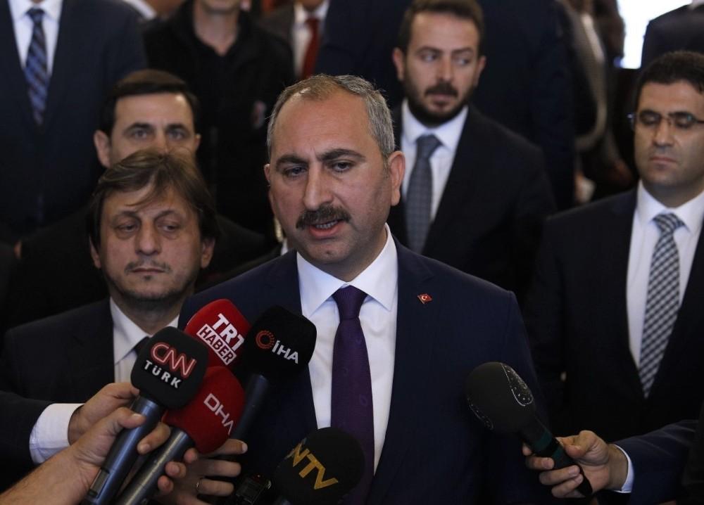 """Adalet Bakanı Gül: """"Vatandaşımızın yargıya güveni artacak"""""""