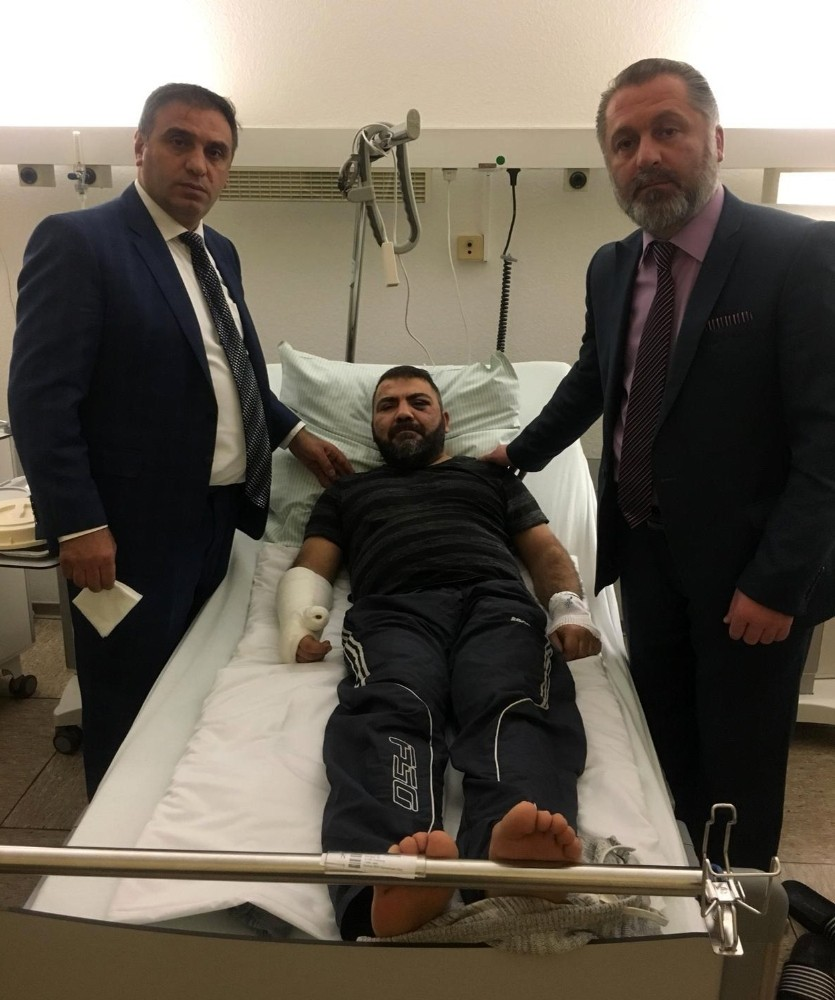 Alman polisi öldüresiye darp ettikleri Türkü sokağa bıraktı