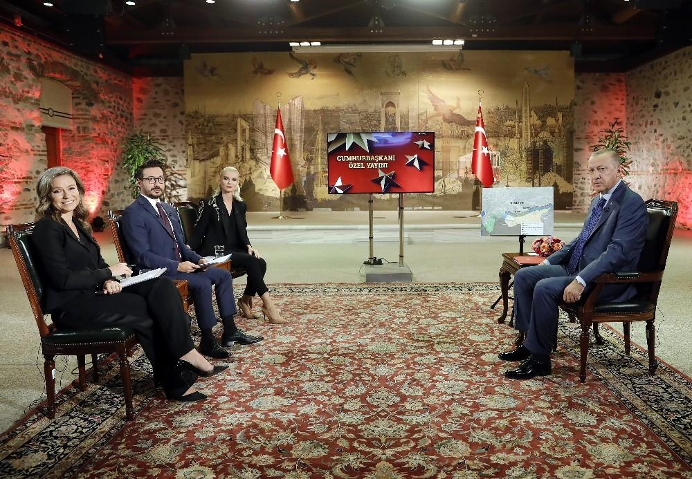 """Cumhurbaşkanı Erdoğan: """"ABD, Mazlum kod aldı teröristi bize teslim etmeli"""""""