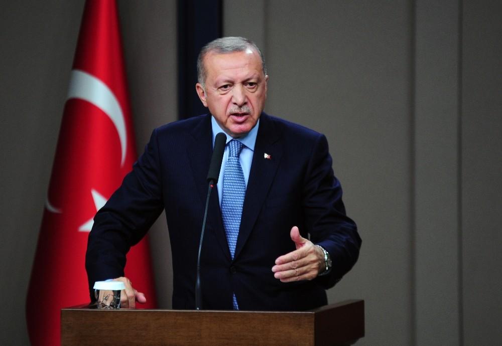 """Cumhurbaşkanı Erdoğan, """"Sözler tutulmazsa harekat devam edecek"""""""