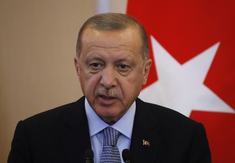 """Cumhurbaşkanı Erdoğan: """"Türkiye ve Rusya, Suriye topraklarında ayrılıkçı hiçbir gündeme izin vermeyecektir"""""""