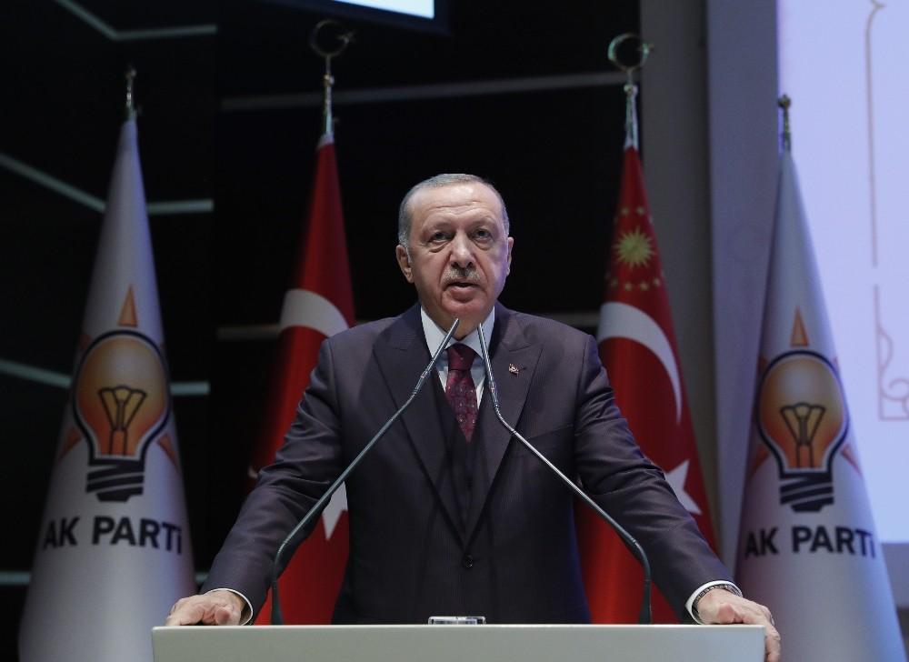 """Cumhurbaşkanı Erdoğan'dan Fransa'ya: """"Terör örgütlerine yardım yataklık yapan bir yönetimsiniz"""""""