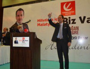 Fatih Erbakan'dan 'Barış Pınarı Harekatı'na tam destek