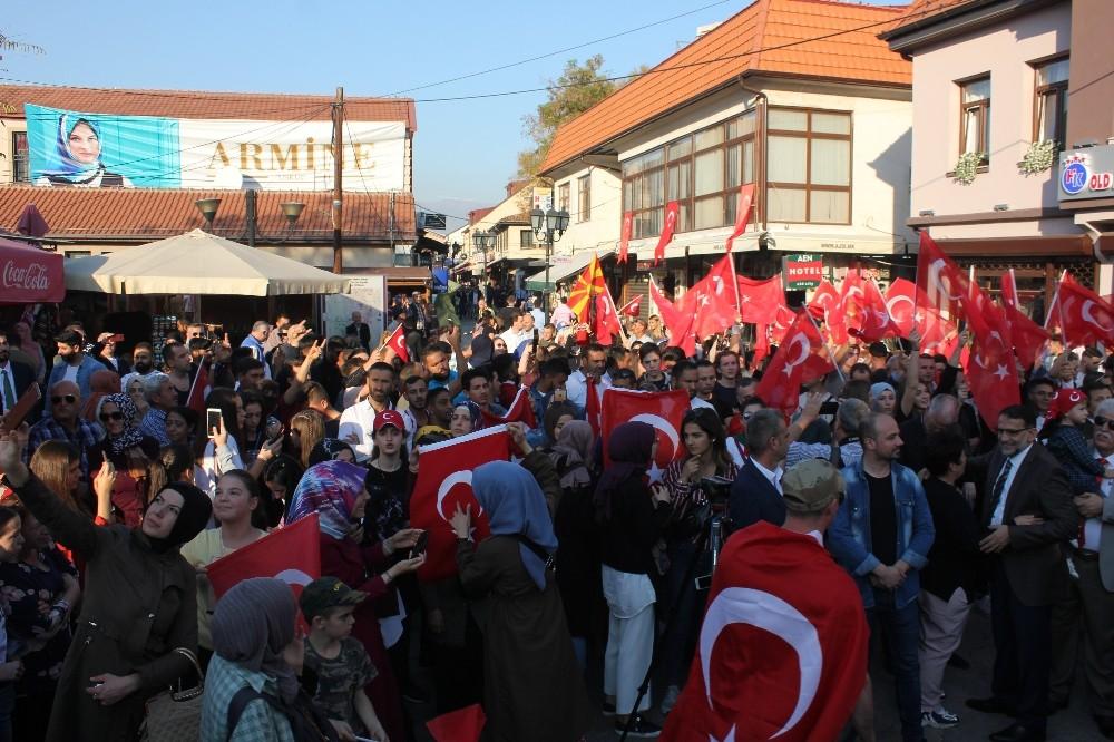 Makedonya, Türkiye ve Türk Ordusu ile dayanışma içinde