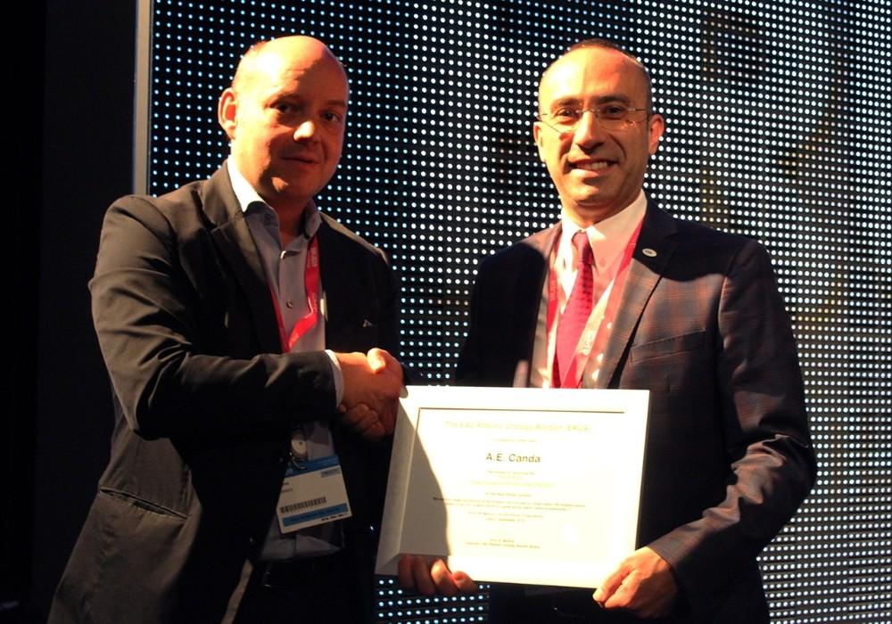 Sağlıkta Türkiye'ye üçüncülük ödülü