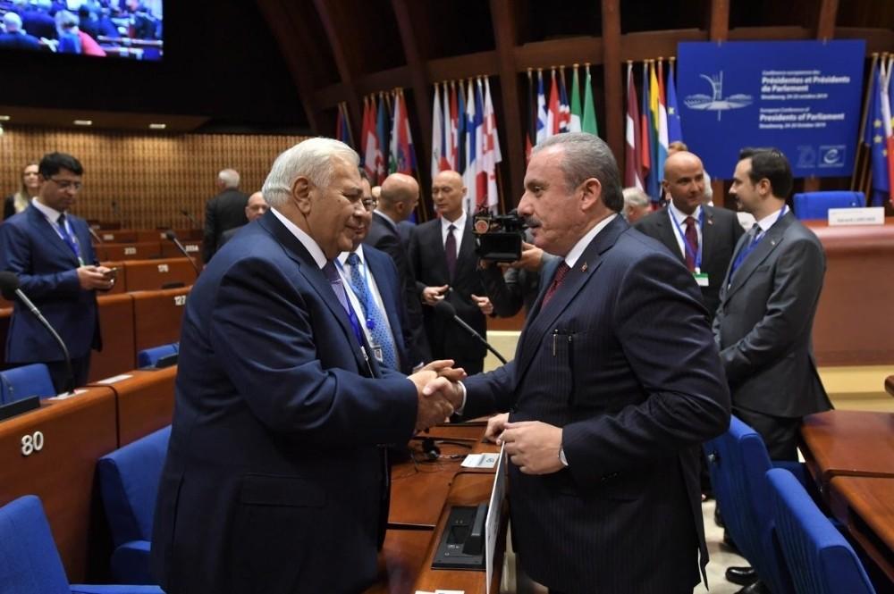TBMM Başkanı Şentop, Avrupa Parlamento Başkanları Konferansı'nda