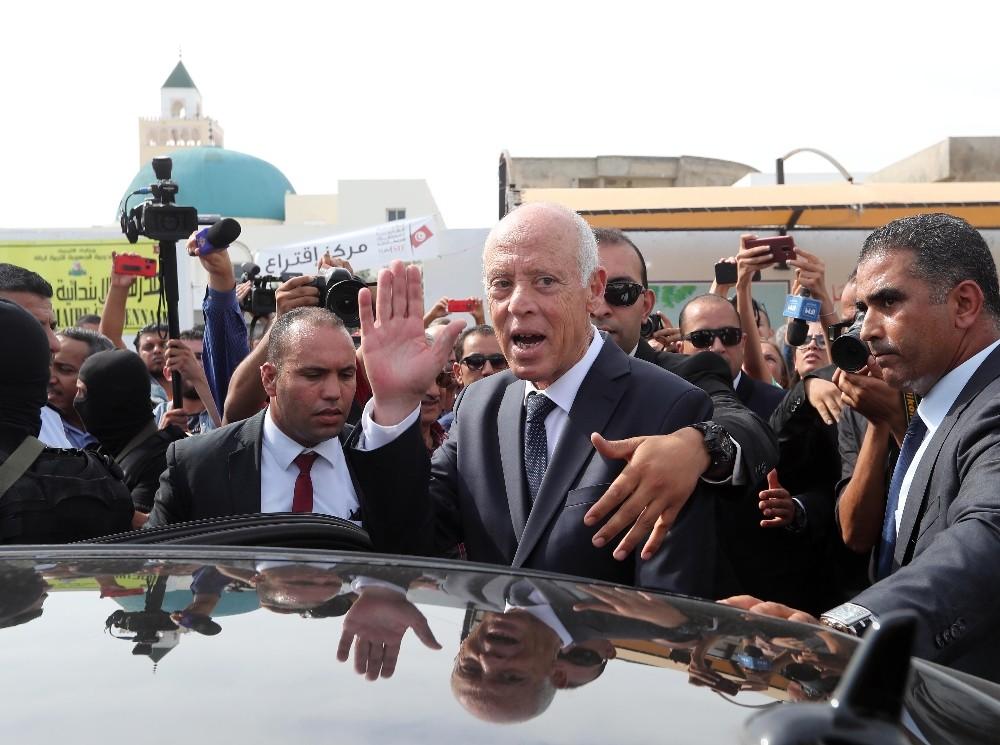 Tunus'un yeni cumhurbaşkanı Kays Said oldu