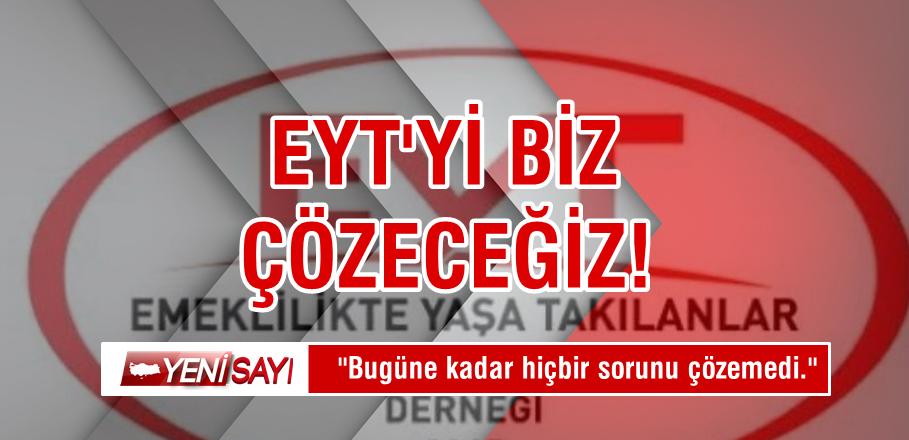 """""""Türkiye'nin bugüne kadar ki hiçbir sorununu çözmedi"""""""