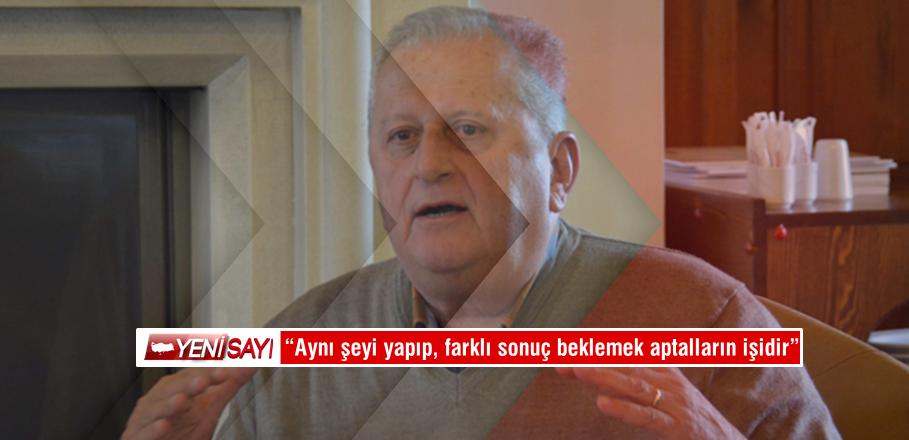 """""""Tuğla tuğla örüp, Türk Milletinin partisini kurmaya çalışıyoruz"""""""