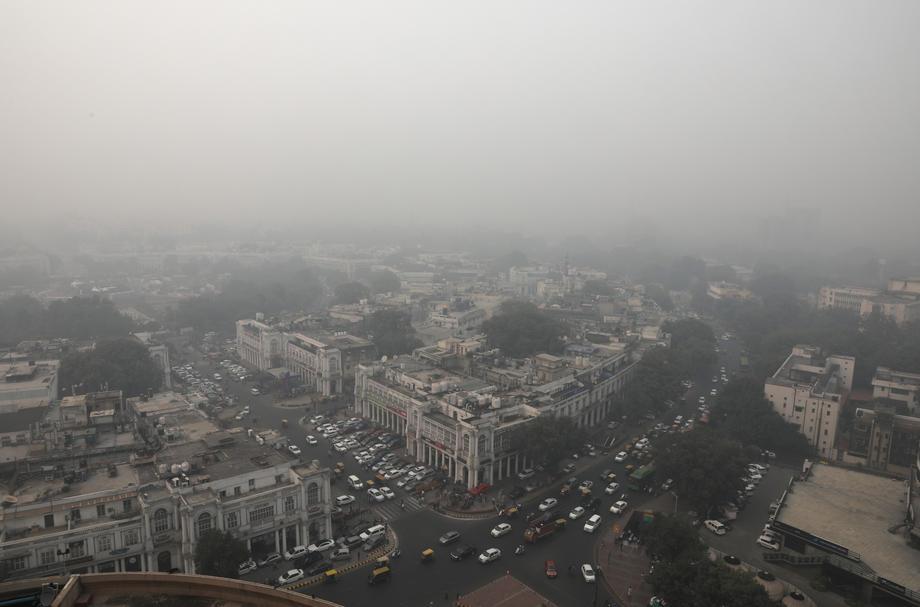 Yeni Delhi'de hava kirliliğine karşı 5 milyon maske