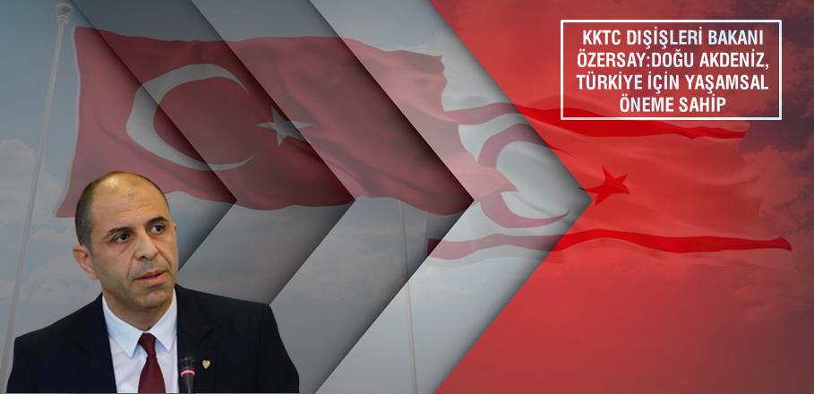 Doğu Akdeniz de, Kıbrıslı Türklerin de hakkı olduğunu herkes kabul etmeli