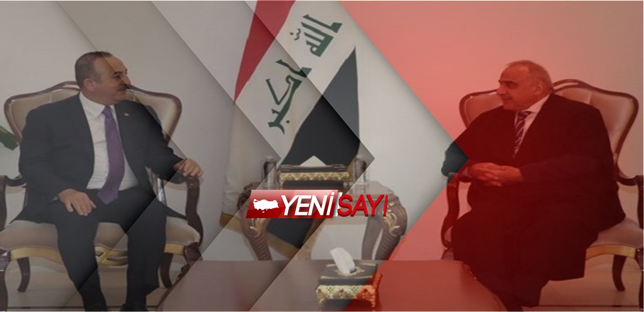 Dışişleri Bakanı Mevlüt Çavuşoğlu,Irak Cumhurbaşkanı ve Başbakanı ile görüştü