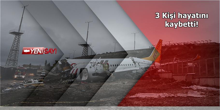Sabiha Gökçen' de uçak kazası !