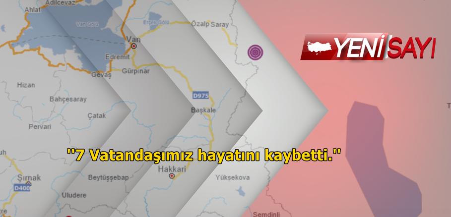 Türkiye – İran sınırında deprem !
