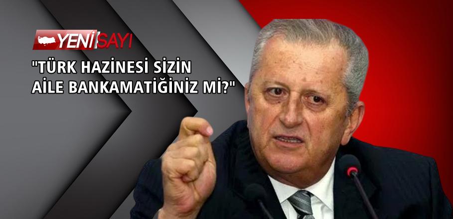 """""""TÜRK MİLLETİNİN SABRINI TAŞIRMAK ÜZERESİNİZ"""""""