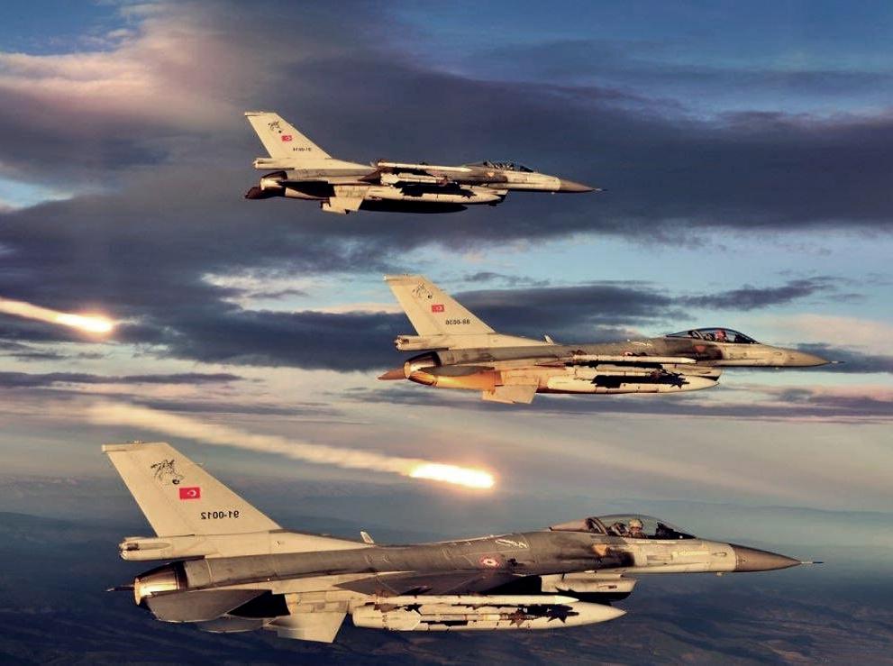 Kuzey Irak'ta Hava Harekatı! 8 pkk'lı etkisiz hale getirildi