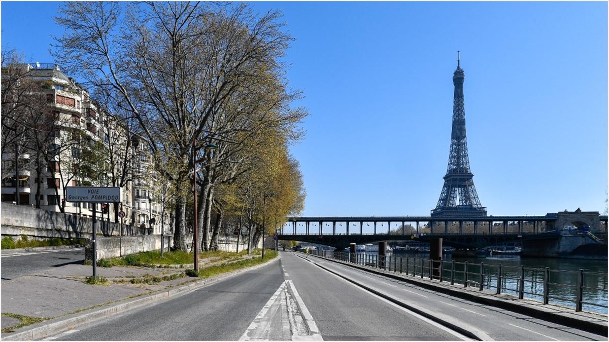 Fransa'da Kovid-19'dan ölenlerin sayısı 14 bin 393'e yükseldi