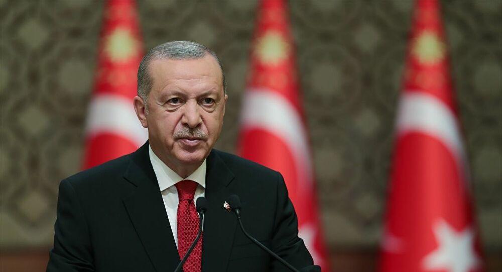 """ERDOĞAN: """"BİZ BİZE YETERİZ' KAMPANYASINDA TOPLANAN 2 MİLYAR 80 MİLYON TL'Yİ İHTİYAÇ SAHİPLERİNE DAĞITTIK"""""""