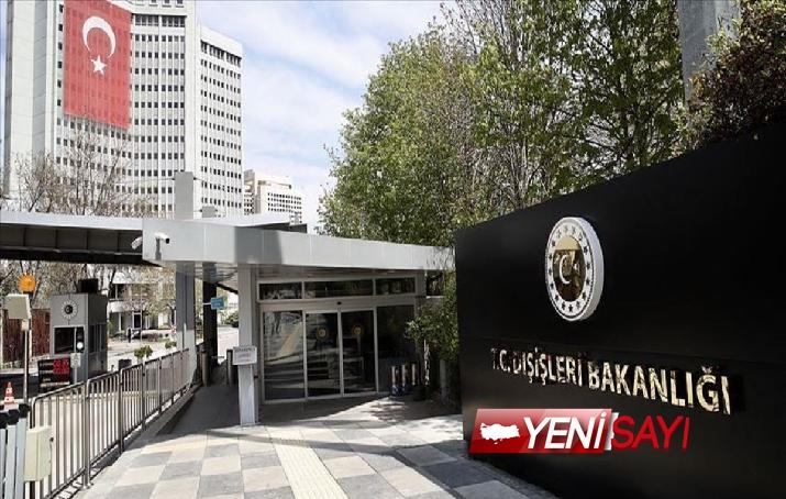"""Dışişleri, Rum tarafının küstah """"Atatürk"""" talimatını kınadı"""