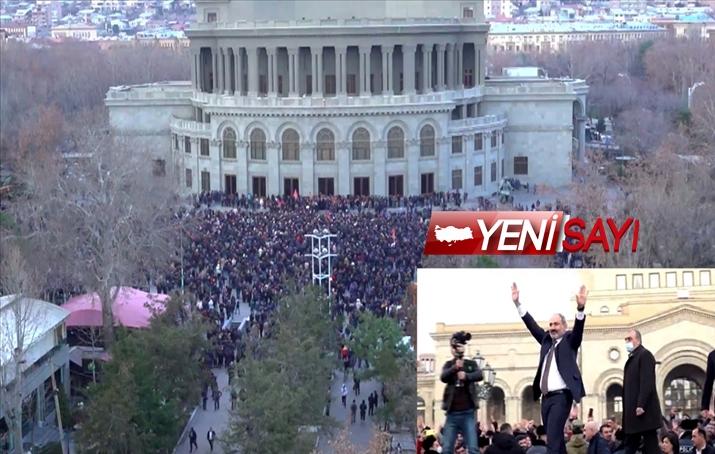 Ermenistan'da ordunun istifa bildirisi sonrası halk meydanlara indi
