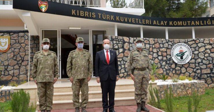 Ersin Tatar: Türk askeri Kıbrıs'tan bir daha gitmeyecek