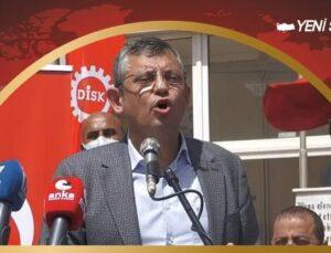 """ÖZGÜR ÖZEL: """"SINIF BAĞIŞIKLIĞI SİSTEMİNE İSYAN EDİYORUZ"""""""