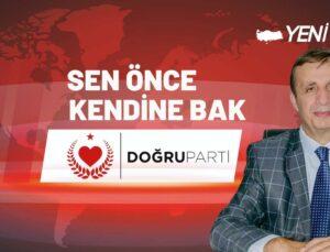 BİR KINAMA DA DOĞRU PARTİ'DEN!