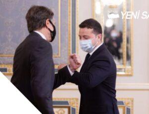 ABD Dışişleri Bakanı Antony Blinken, Volodımır Zelenski ile görüştü