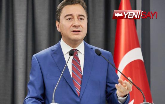 """Babacan: """"Sayın Erdoğan prompterdan ayrılınca tüm vaatleri unuttu"""""""